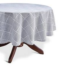 Threshold™ Rope Print Tablecloth - Navy/White (6... : Target