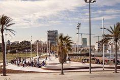 Desde marzo, Barcelona cuenta con dos nuevos skateparks en la ciudad; tienen muy buena pinta.