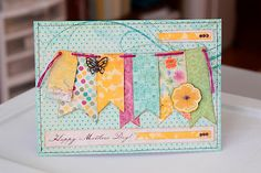 Card Challenge Tuesday!!! at Bo Bunny Blog - cute cards made with banners