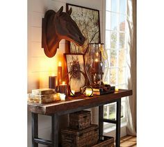Griffin Side Table   Pottery Barn