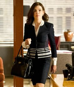 Image result for suits worn by julianna margulies in the good wife