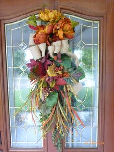 Grapevine Wreath, Tuscan Fall Autumn, Front Door Decor ...