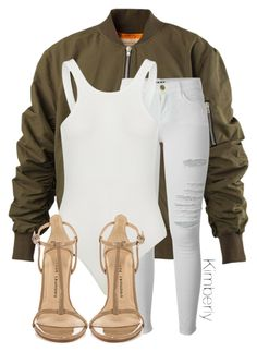 """""""Untitled #1532"""" by whokd ❤ liked on Polyvore featuring Frame Denim and Chinese Laundry"""