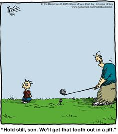 That's how you get a tooth out! (assuming you drive well) #golfhumour #holeinonemy