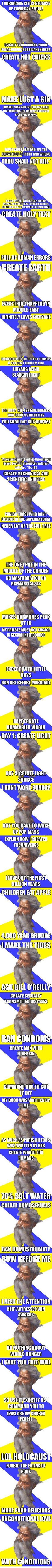 It all makes sense. #god #meme #religion Advice God http://knowyourmeme.com/memes/advice-god