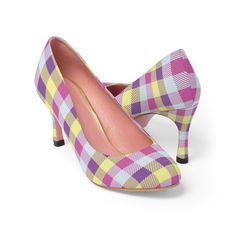 #PlaidShoes #FashionShoes #FashionCasual #WomensShoes