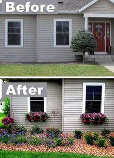 6. Add character with window boxes! ~ 17 Impressive Curb Appeal Ideas (cheap and easy!)?