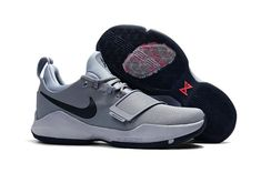 a463d7434cb Young Big Boys Nike PG 1 Glacier Grey Armory Blue04 Wholesale Jordan Shoes