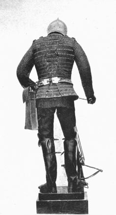 Spanish crossbowman, XV century (back view)