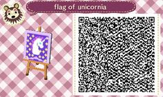 Animal Crossing New Leaf flag qr code  Bidoofcrossing on tumblr