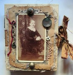 Altered Bits: Mixed Media Art by Alicia Caudle (assemblage, found ...