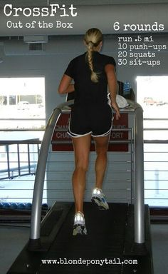 Crossfit Workout that includes running
