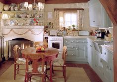 """lovely kitchen - Iris' cottage from the film """"The Holiday"""""""