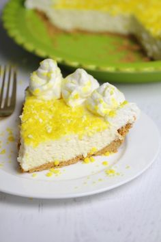 Lemon Cream Pie #lem