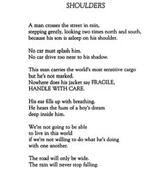 "Naomi Shihab Nye, ""Shoulders"""
