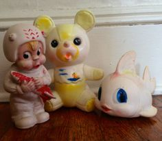 grubby rubbers Doll Toys, Dolls, Rubber Doll, Plush Animals, Vintage Toys, Lust, Baby Dolls, Doll
