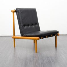 Vintage Armchairs – Premium 1960s Brazilian style leather lounge chair – a unique product by Velvet-Point on DaWanda