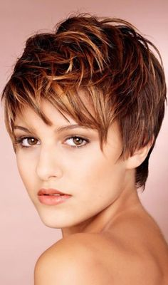 Long Pixie Hairstyles, Undercut Hairstyles, Pixie Haircut, Short Hairstyles For Women, Cool Hairstyles, Hairstyle Ideas, Hair Ideas, Choppy Haircuts, Trendy Haircuts