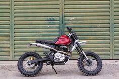 Honda 650 Scrambler by Kevils Moto #motorcycles #scrambler #motos   caferacerpasion.com