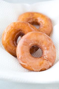 The greatest homemade donut recipes you'll ever find, including these Copycat Krispy Kremes!