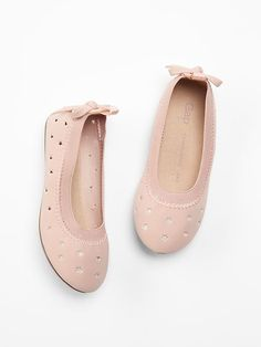 Starry perforated ballet flats Product Image