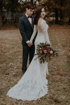 Charming Christmas Tree Farm Wedding Inspiration