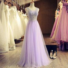 Elegant Prom Dress, Tulle Prom Dress,Long Prom Dresses,Elegant