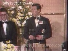 "Princes Charles: ""I need 2 wives""  At a Banquet in New Zealand, 1983, Prince Charles jokes in speech about needing two wives for working both sides of the street during walkabouts. Princess Diana was there as well."