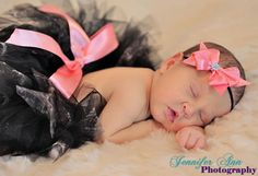 Pink Camo Camouflage Real Tree Tutu with Bow Headband Newborn Prop on Etsy, $31.00