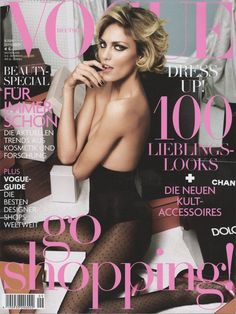 Anja Rubik by Alexi Lubomirski Vogue Deutsch September 2009