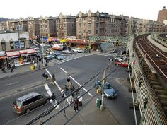 Dykman Street, Washington Heights a few blocks away from where I use to live Miss the A train tracks