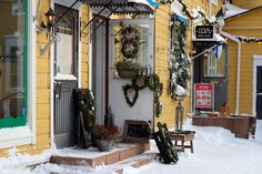Porvoo...Don't know what that word means...but this is very inviting.