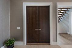 Custom Wood Interior Doors   Office Modern Door DBIM MD1005   Glenview Haus    Custom