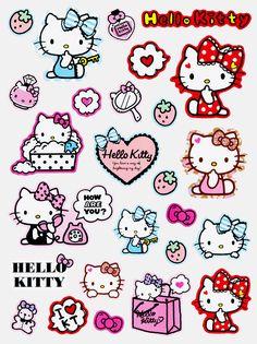Hello Kitty Hello Kitty Art, Hello Kitty Pictures, Sanrio Hello Kitty, Hello Kitty Tattoos, Hello Kitty Backgrounds, Hello Kitty Wallpaper, Little Twin Stars, Halloween Drawings, Letter Set