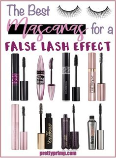 8 Best Mascaras for a False Lash Effect 8 Best Mascaras for a False Lash Effect best mascaras Don't get me wrong, false lashes are GREAT. They add volume and length instantly and really bring out the eyes. Read Best Mascaras for a False Lash Effect Makeup Dupes, Makeup Geek, Beauty Makeup, Eye Makeup, Beauty Dupes, Makeup Kit, Drugstore Beauty, Makeup Tricks, Beauty Tricks