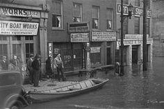1937 Ohio River flood Louisville KY