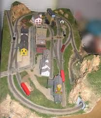 Image result for N scale layout 2 feet x 3 feet