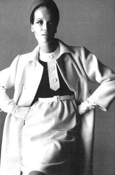 1965 Yves Saint Laurent  UK Vogue