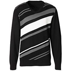#Pullover mit #Streifen ab 24,99 € Hier kaufen:  http://stylefru.it/s670526 #schwarz