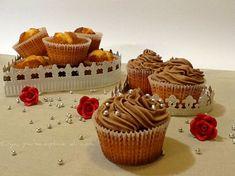 Frosting alla nutella per cupcakes, ricetta. http://blog.giallozafferano.it/oya/frosting-alla-nutella-per-cupcakes/