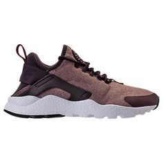 21fd79e367804 Right view of Women s Nike Air Huarache Run Ultra Casual Shoes in Port  Wine Metallic Mahogany Pink