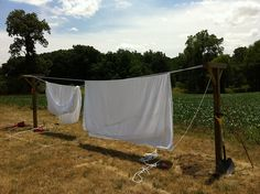 DIY Weekend Project: How To Build a Kickass Clothesline