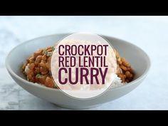 Crockpot Red Lentil Curry Recipe - Pinch of Yum