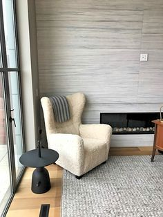 City life. Email us to set up your appointment, and shop #MONCNYC. info@monc13.com Jaime Hayon for Cassina and Mid-Century vintage chair, reupholstered in shearling.