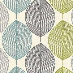 Arthouse Retro Leaf Teal/Green Bold Floral Flower Vintage Heavyweight Wallpaper