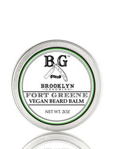 Men's Grooming Products- Fort Greene Vegan Beard Balm  ...... Give your man a eco gift.  From. Brooklyn Grooming