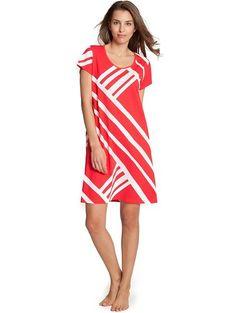 Nanso - Chemise de nuit - Femme Rouge Rouge -  Rouge - Large