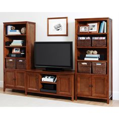 "Canopy Entertainment Center, for TVs up to 47"", Multiple Colors"
