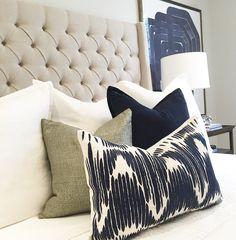 Wonderland by Alice Lane | Park Avenue bed - tufted linen