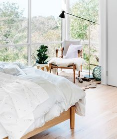 Smoke Quilt Set - Hunting for George - Hunting for George - Brands ( I wish our guest room had this view! JK)
